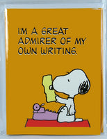 Snoopy Note Card Set - Literary Ace