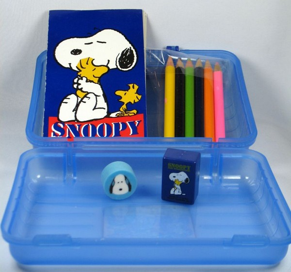Snoopy Mini Writing Set With Storage Case