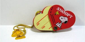 Snoopy and Woodstock Mini Heart-Shaped Phone Book