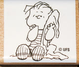 Linus Rubber Stamp (*Re-Mounted New Stamp)