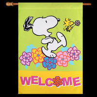 NON-VINTAGE FLAG - WELCOME - ON SALE!