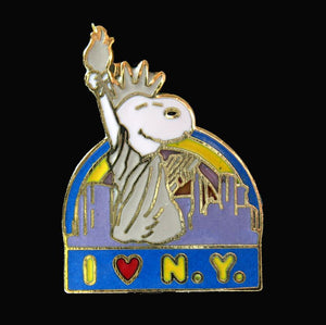 """I Love New York"" Cloisonne Pin"