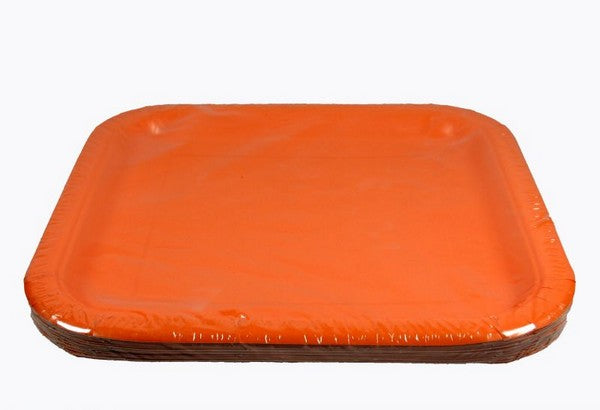 Dancing Snoopy Color-Matching Dessert Plates - Orange