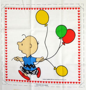 Charlie Brown Wall Hanging or Pillow Panels