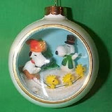 1981 Snoopy Panorama Christmas Ornament
