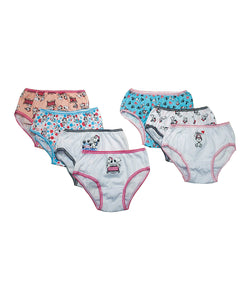 Belle and Snoopy Girls 7-Pair Panties Set