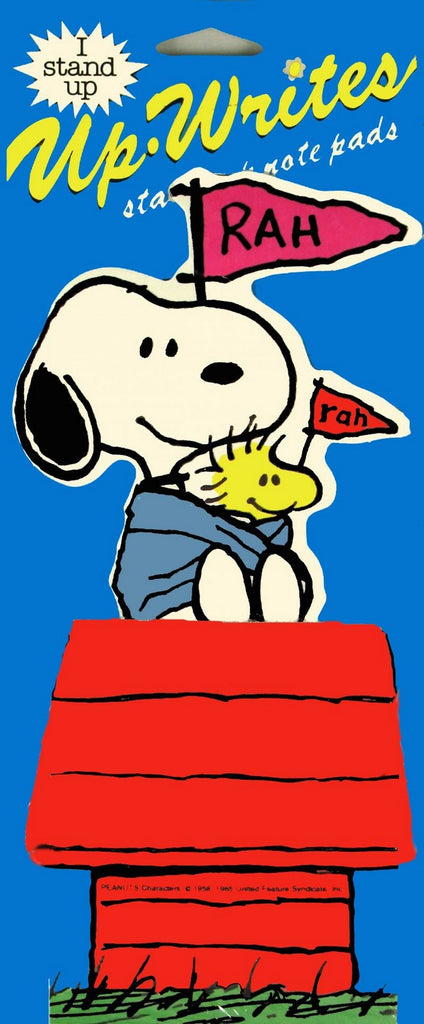 Snoopy Up-Write Stand Up Note Pad
