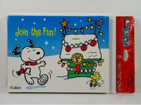 Snoopy Christmas Party Invitations