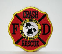 CAMP SNOOPY FD CRASH & RESCUE PATCH