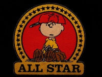 CHARLIE BROWN ALL STAR PATCH
