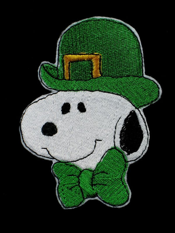 SNOOPY ST. PATRICK'S DAY PATCH