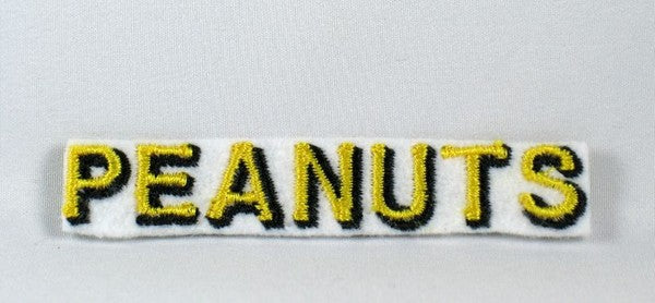 PEANUTS NAME PATCH