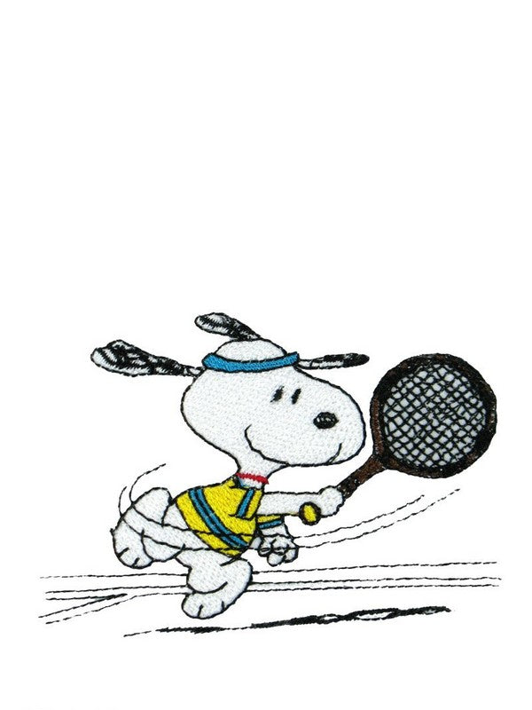 SNOOPY TENNIS PLAYER PATCH