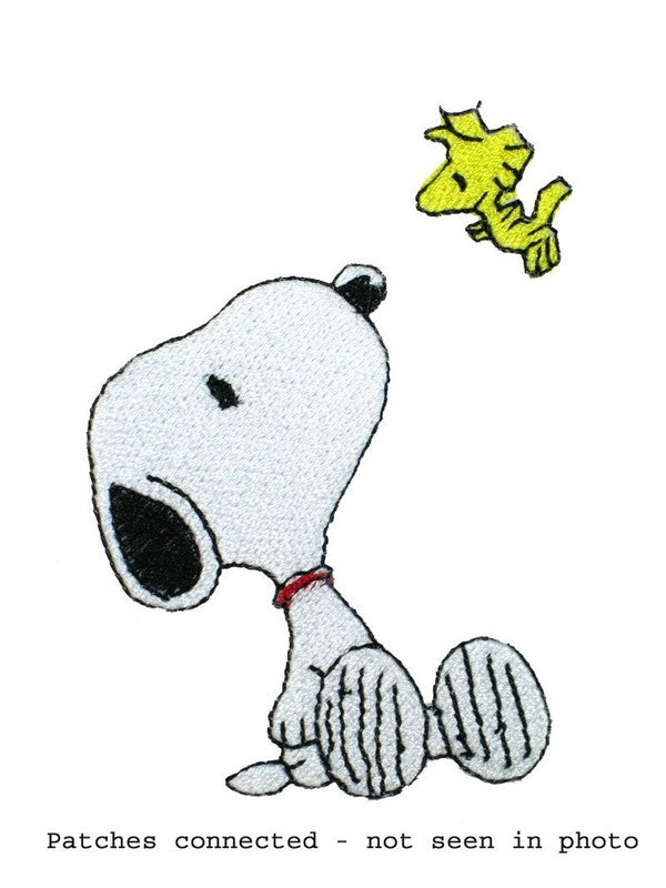SNOOPY AND WOODSTOCK PATCH