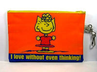Sally and Snoopy Vinyl Pencil Bag