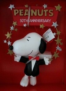 ADLER SNOOPY 50TH ANNIV. ORNAMENT