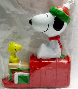ADLER SNOOPY ON MAILBOX ORNAMENT