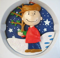 ADLER CHARLIE BROWN DISC ORNAMENT