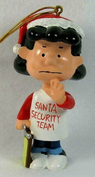 ADLER LUCY SECURITY TEAM ORNAMENT