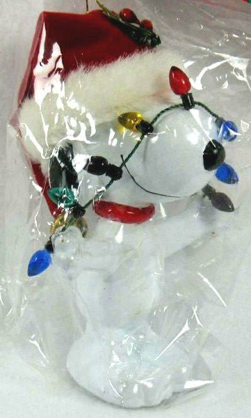 ADLER SNOOPY WRAPPED IN LIGHTS ORNAMENT
