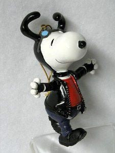 ADLER SNOOPY HARLEY ORNAMENT