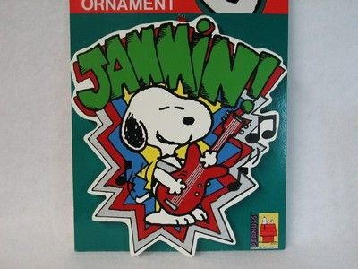 ADLER SNOOPY JAMMIN' ORNAMENT