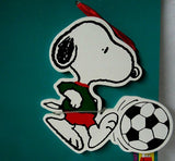 ADLER SNOOPY SOCCER ORNAMENT