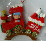 ADLER CHARLIE BROWN TRAIN ORNAMENT