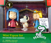 Nativity Figure Set - Linus, Snoopy, and Sally - ON SALE!