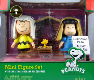 Nativity Figure Set - Charlie Brown, Lucy, and Woodstock - ON SALE!