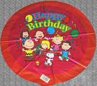 Peanuts Happy Birthday Balloon (Air Fill)