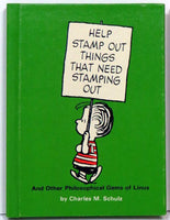 Hallmark Hardback Book: Help stamp out things that need stamping out