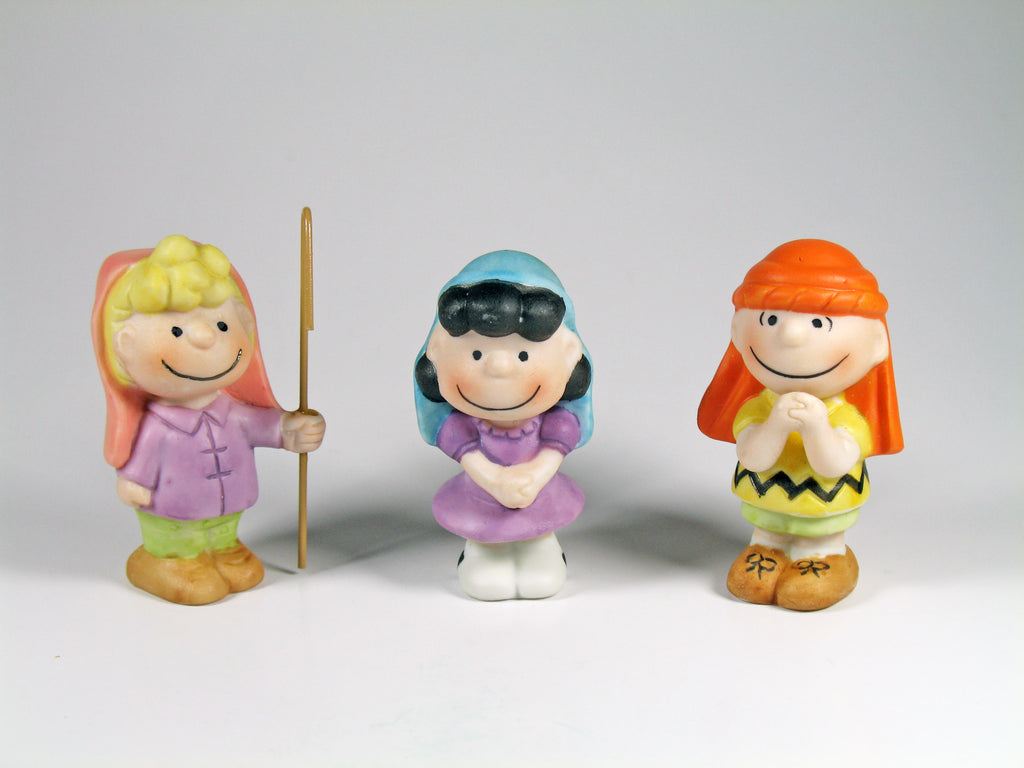 Peanuts Porcelain Nativity Figure