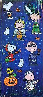 Peanuts Holographic Halloween Stickers