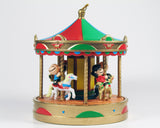 1988 Peanuts Rotating Carousel Christmas Ornament (New But Near Mint)