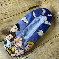 Peanuts Gang Plush Fuzzy Babba Slippers