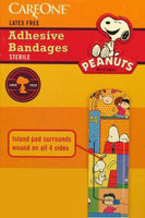 Peanuts Gang Decorative Band-Aids (10 Band-Aids)