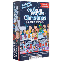 Charlie Brown Christmas Family Bingo Game