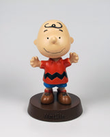 Met Life Charlie Brown Bobblehead On Base