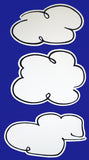 Peanuts Double-Sided Wall Decor - Set Of Big Clouds
