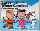Lucy's Winter Carnival Large Colorforms Set
