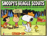 Snoopy's Beagle Scouts Large 3-D Colorforms Set