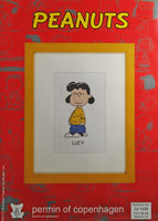 Peanuts Cross Stitch Kit (Imported From Denmark) - Lucy