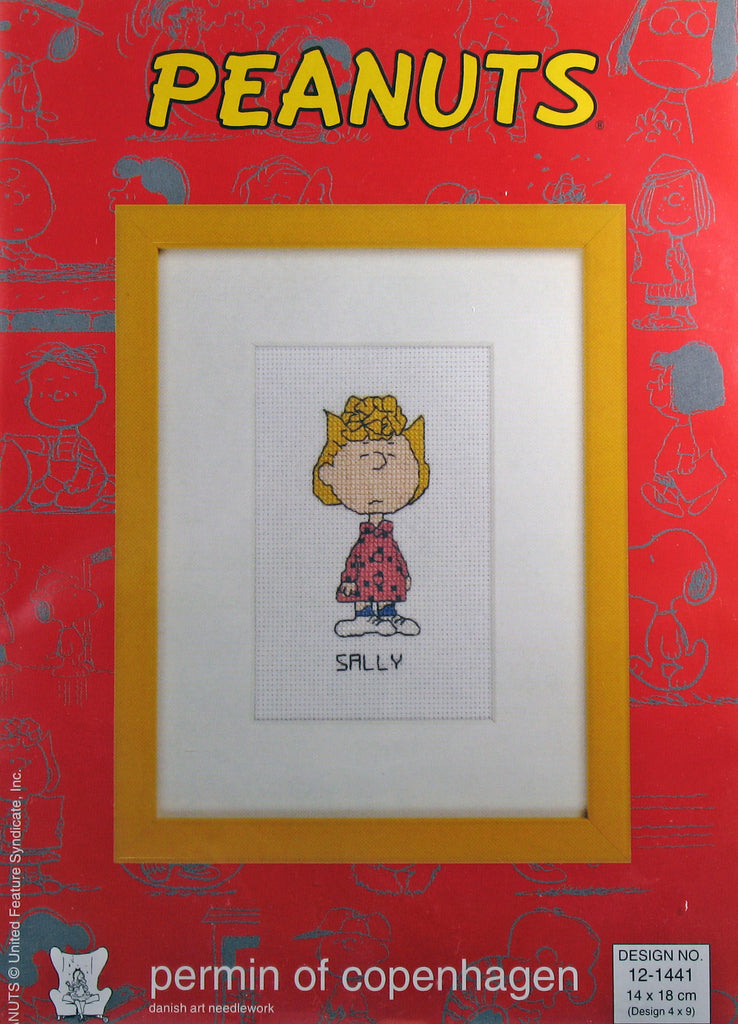 Peanuts Cross Stitch Kit (Imported From Denmark) - Sally