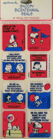 Snoopy Bicentennial Seals (*Open Pack/3 Full Sheets) - RARE!