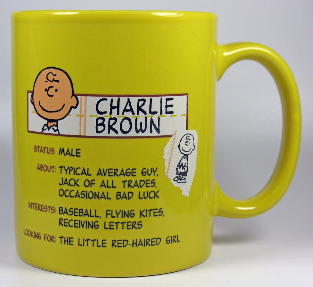 Charlie Brown Trivia Mug