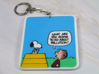 Flip-Over Key Chain - Snoopy and Linus