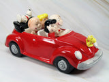 "40th Anniversary Peanuts Musical Figurine - ""Happiness Ride"""