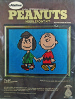 Peanuts Needlepoint Kit -  Peppermint Patty and Charlie Brown