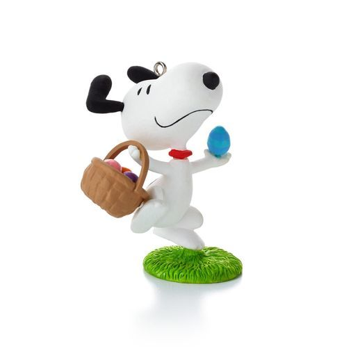 2014 Peanuts 12 Months Of Fun Christmas Ornament - April (9th)